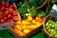 targowy warzywo zdjęcia royalty free