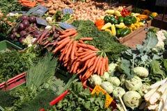 targowy warzywo Obrazy Royalty Free