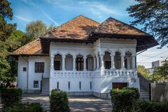 Barbu Ganescu House  casa Barbu Ganescu  on September 25, 2020 in Targu-Jiu.