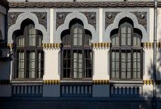 Construction details of the high school Tudor Vladimirescu  on September 25, 2020 in Targu-Jiu.