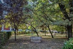 The Festive table of the sculptor Constantin Brancusi on September 25, 2020 in Targu Jiu.