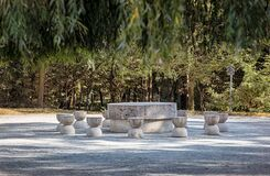 The Table of Silence on September 25, 2020 in Targu Jiu.
