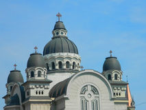 Targu Mures Cathedral , Romania Stock Photography