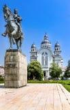 Targu Mures centrum Royaltyfria Bilder