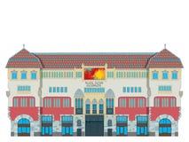 Targu Mures culture palace Stock Photography