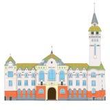 Targu Mures pałac Fotografia Stock