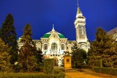 Targu Mures stad, Rumänien Royaltyfria Bilder