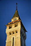 Targu Mures - vieille ville Hall Tower Images stock