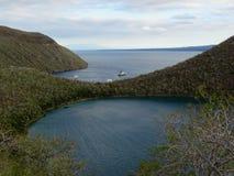 Targus Cove, Galápagos. Targus Cove in the Galápagos Islands, Galápagos archipelago Royalty Free Stock Photo
