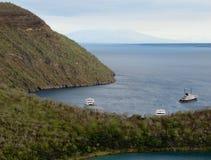 Targus Cove, Galápagos. Targus Cove in the Galápagos Islands, Galápagos archipelago Royalty Free Stock Photos