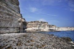 Tarhankut Cape in Crimea Royalty Free Stock Image