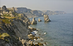 Tarhankut, Crimea Royalty Free Stock Photography