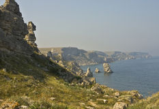 Tarhankut, Crimea Royalty Free Stock Photos
