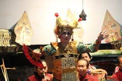 Tari Kecak Bali Royaltyfri Foto