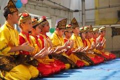 Tarian Saman Aceh stock images