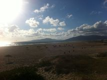 Tarifa Andalucia, Spanien Royaltyfri Fotografi