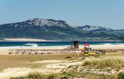 Tarifa beach Royalty Free Stock Image