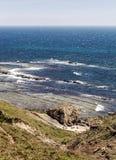 Tarifa beach in vertical Stock Images