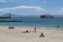 Tarifa, Hiszpania, Andalusia, Iberyjski półwysep, Europa Zdjęcie Stock