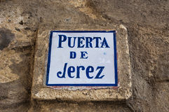 Tarifa, Hiszpania, Andalusia, Iberyjski półwysep, Europa Fotografia Stock