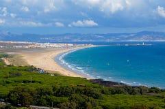 Tarifa krajobraz Hiszpania Obrazy Stock