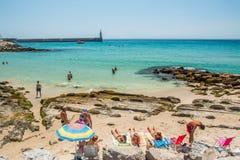 Tarifa's beach Stock Image