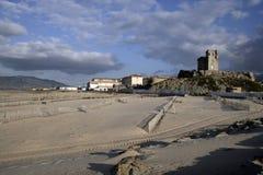 Tarifa sea front, Royalty Free Stock Photography