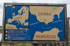 Tarifa, Spanje, Andalusia, Iberisch schiereiland, Europa Royalty-vrije Stock Afbeeldingen
