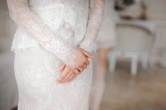 Tarifas de la novia Detalles de la boda fotografía de archivo