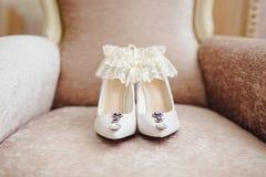 Tarifas de la novia Detalles de la boda foto de archivo libre de regalías