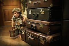 Tarifas en el camino La alegría de viajar Expectativa Fotografía de archivo libre de regalías