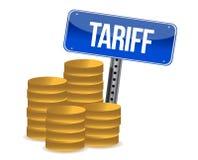 Tariff concept Stock Image