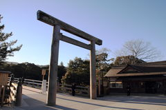 Tarii of Ise shrine Royalty Free Stock Image