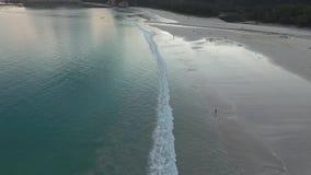 Tarimbangstrand, Sumba-eiland, Indonesië stock videobeelden