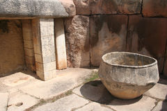 Tarixen prähistorischer Tempel Stockbild