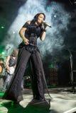 Tarja on concert Stock Photo