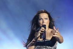 Tarja an den Originalen von Felsen 2010 Stockfoto