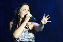 Tarja at Masters of Rock 2010 Stock Photography