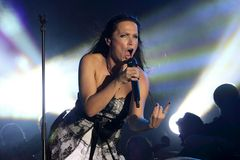 Tarja at Masters of Rock 2010 Royalty Free Stock Photo