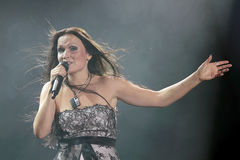 Tarja at Masters of Rock 2010 Royalty Free Stock Photography