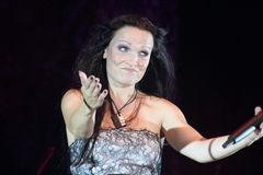 Tarja at Masters of Rock 2010 Royalty Free Stock Images
