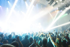 Tarja Turunen στη συναυλία στοκ εικόνες με δικαίωμα ελεύθερης χρήσης
