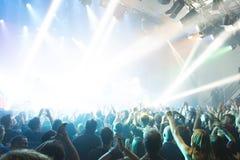 Tarja Turunen in concert Royalty Free Stock Images