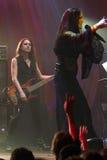 Tarja Turunen in concert Stock Photo