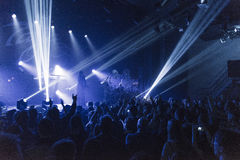 Tarja Turunen in concert Stock Images