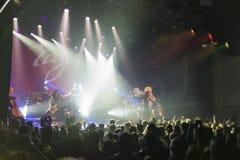 Tarja Turunen in concert Stock Photos