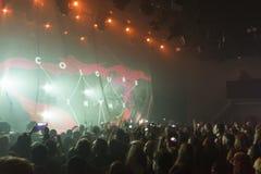 Tarja Turunen in concert Royalty Free Stock Photos