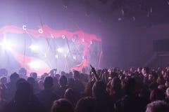 Tarja Turunen in concert Royalty Free Stock Photo