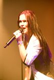 Tarja Turunen ex nightwish singer Royalty Free Stock Photography
