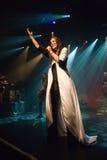 Tarja Turunen ex nightwish singer Royalty Free Stock Images